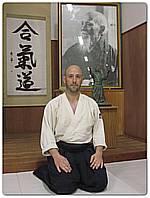 Javier Gil González - junto O-Sensei en Kumano Juku Dojo, Japón
